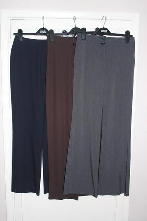 3 pairs of trousers