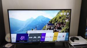 """4K HDR LG 43"""" Smart Ultra HD WiFi Tv Freeview HD youtube Netflix HDR excellent Condition"""