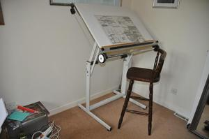 Drawing Board and stall