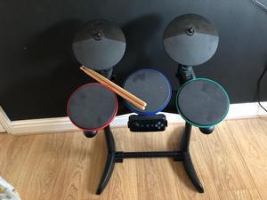 PS3 drum kit.