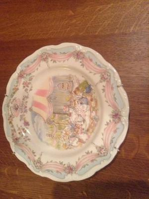 ROYAL DOULTON PLATE;BRAMBLY HEDGE -THE WEDDING