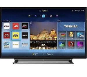 """Toshiba 40"""" Smart WiFi Led Tv Full HD Freeview HD youtube Netflix Excellent Condition"""
