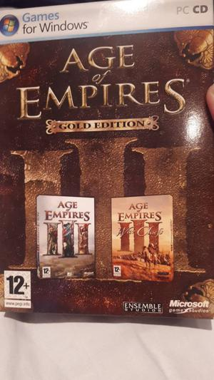 Age of Empires 3 Gold Edition PC Game
