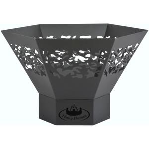 Esschert Design Fire Bowl Hexagonal FF280