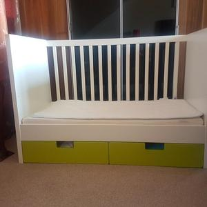 Ikea Stuva Cot With Drawers And Guard Rail Posot Class