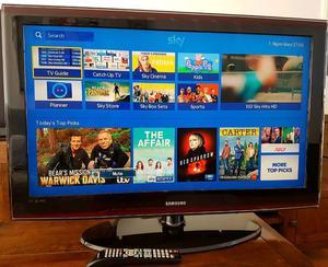 "SAMSUNG Series 6 40"" LCD Tv"
