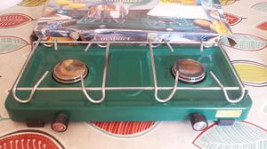 SUNGAS COMPACT DOUBLE BURNER STOVE