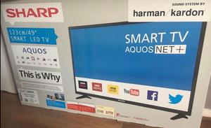 Sharp 49 Inch Smart WiFi Full HD LED TV with Freeview HD