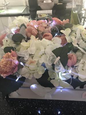 Wedding flower boxes