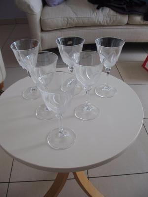 6 stunning wine glasses