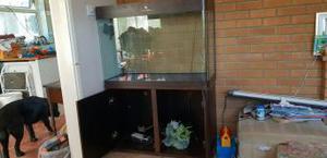 Aquarium and Cabinet for sale
