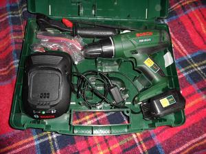 Bosch PSB 16 LI Battery plus drill case