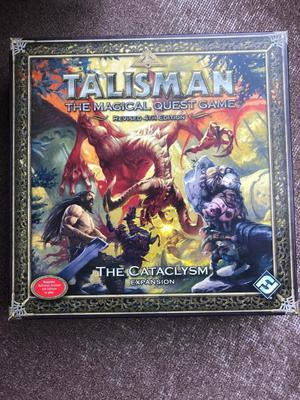 """Brand-new board game """"The Talisman (Revised 4th edition): The Cataclysm"""""""