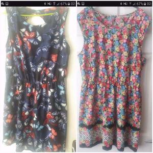 Bundle of 8 summer dresses size 18