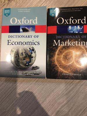 Dictionary of economics and marketing