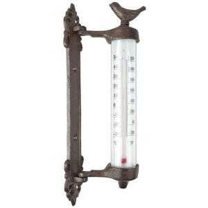 Esschert Design Wall Thermometer Brown Cast Iron BR20