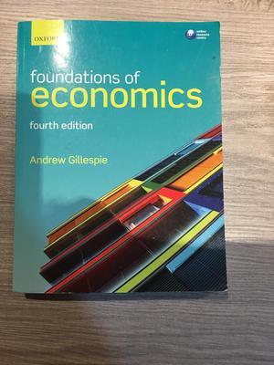 Foundations of Economics 4th Edition
