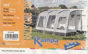 Kampa Air Awning Pump