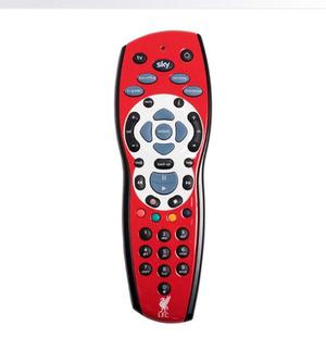 LIVERPOOL SKY+HD BOX REMOTE CONTROL NEARLY LIKE NEW FOR SALE £15, NO OFFERS,THX