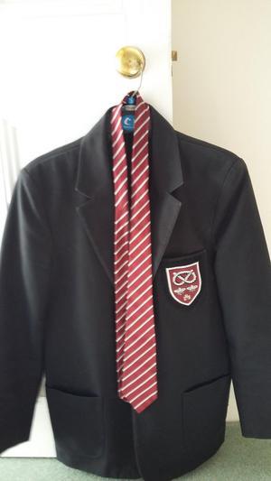 Leek High Schoo Uniform - Boys school blazer & tie