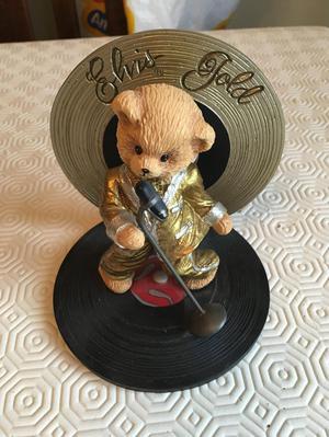 elvis Presley 'Elvis gold' be my teddy bear collection
