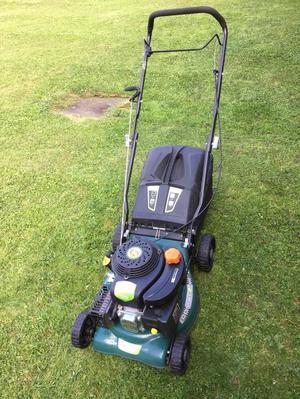 """qgarden t375 lawn mower lawnmower 16"""" inch cut combi 2 in 1"""