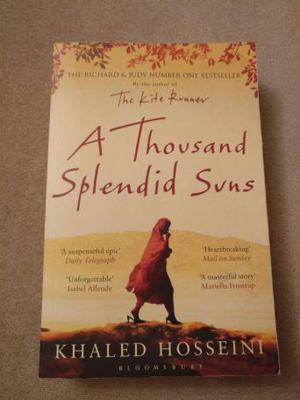 A Thousand Splendid Suns Paperback Book