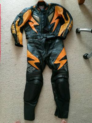 IXS leathers two piece size 54 jacket, 34 waist