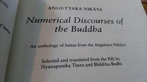 Numerical Discourses of the Buddha: An Anthology of Suttas f