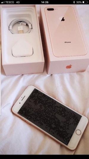 Rose gold iPhone 8 Plus 256gb