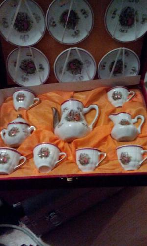 Antique children's tea set