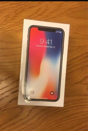 Brand New iPhone X 64gb: Unlocked to all Networks+Apple warranty