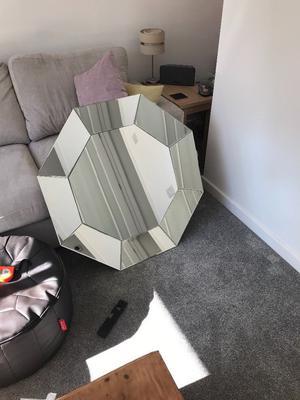 Brand new 90cm octagonal Mirror