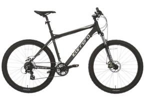 Carrera Vengance Mountain bike. Only 50 miles done on it. Great entry level mountain bike.