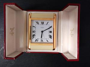 Cartier Clock in Original Box
