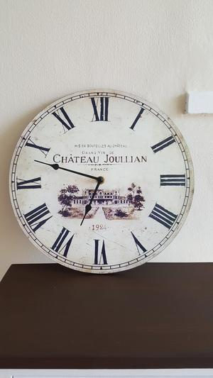 Country kitchen/shabby chic style clock