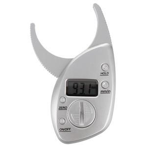 Digital LCD Body Fat Caliper Skin Fold Thickness Health