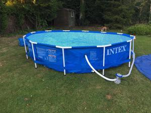 Intex 12 ft Pool and heater