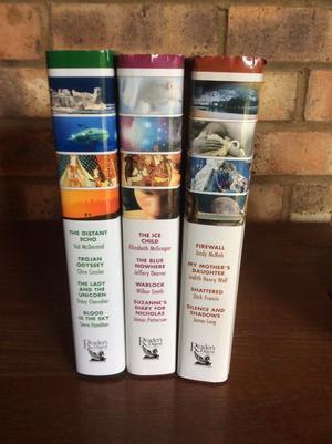 Readers Digest Condensed Books 3 Volumes