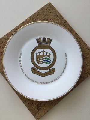 Royal Doulton bone china Royal Princess souvenir plate