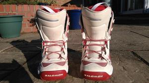 Salomon Snowboard Boots, (Used for less than 1 week!) - UK Ladies Size 6.5
