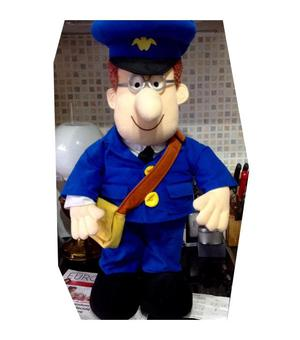 """Large """"Postman Pat"""" and his """"Black and White Cat"""""""