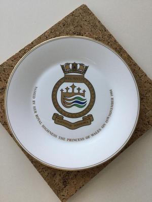 Royal Princess  souvenir plate - Royal Doulton