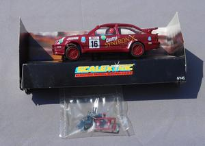 "SCALEXTRIC Hard to Find FORD SIERRA RS COSWORTH ""SYNTRON X"""