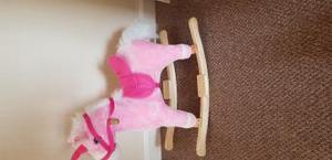 rocking horse pink