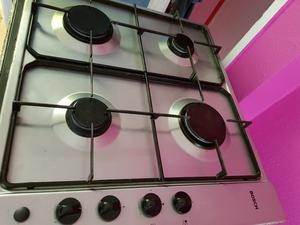 Bosch 4 burner gas hob build in, integrated, stainless steel. Fully working, delivery is available