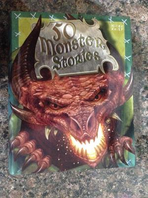 Brand new - 50 monster stories book