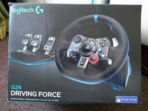 Logitech G29 Driving Force Racing Wheel & Racing Wheel Stand