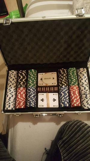 CQ poker set
