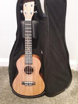 Concert size ukulele